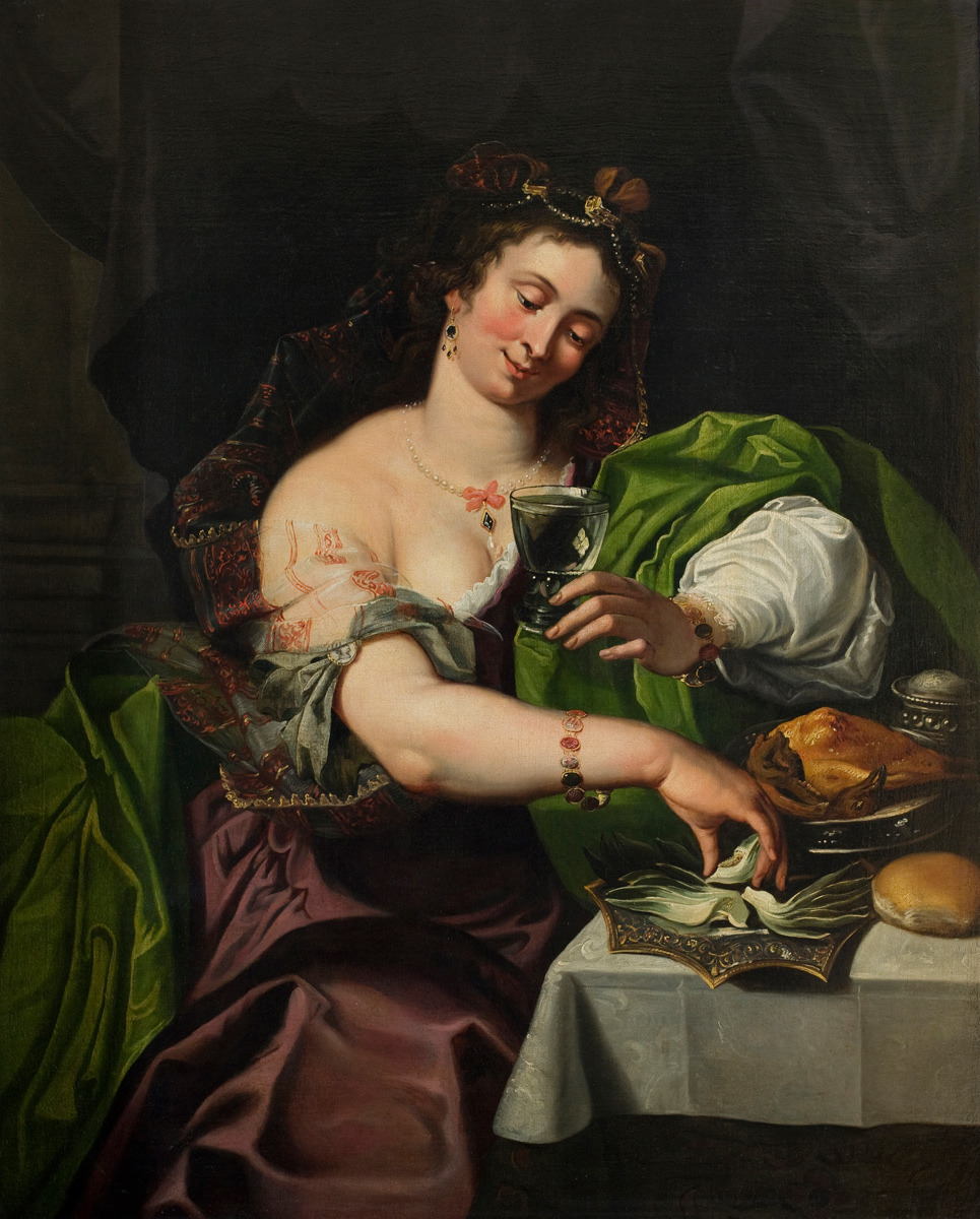 Abraham Janssens  (Antwerp 1573 approx. – Amsterdam 1632): 'The Gipsy'