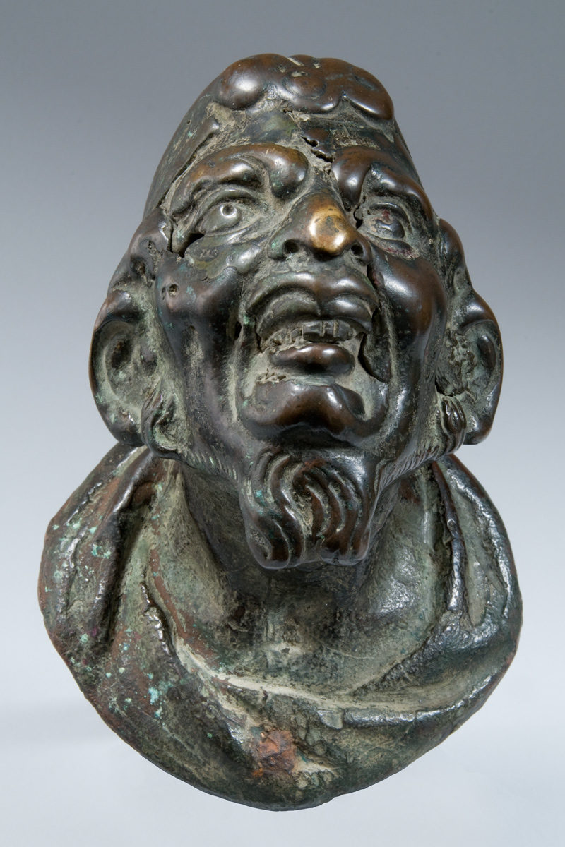 Niccolò II de' Conti (Venice 1530 approx. – 1601): 'Door Handle in the Shape of a Satyr's Head'