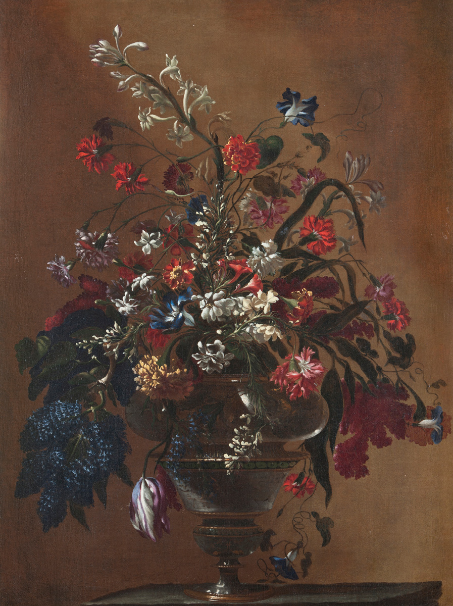 Mario Nuzzi, called Mario dei Fiori (Rome 1603 – 1673): 'Bouquet of Flowers'