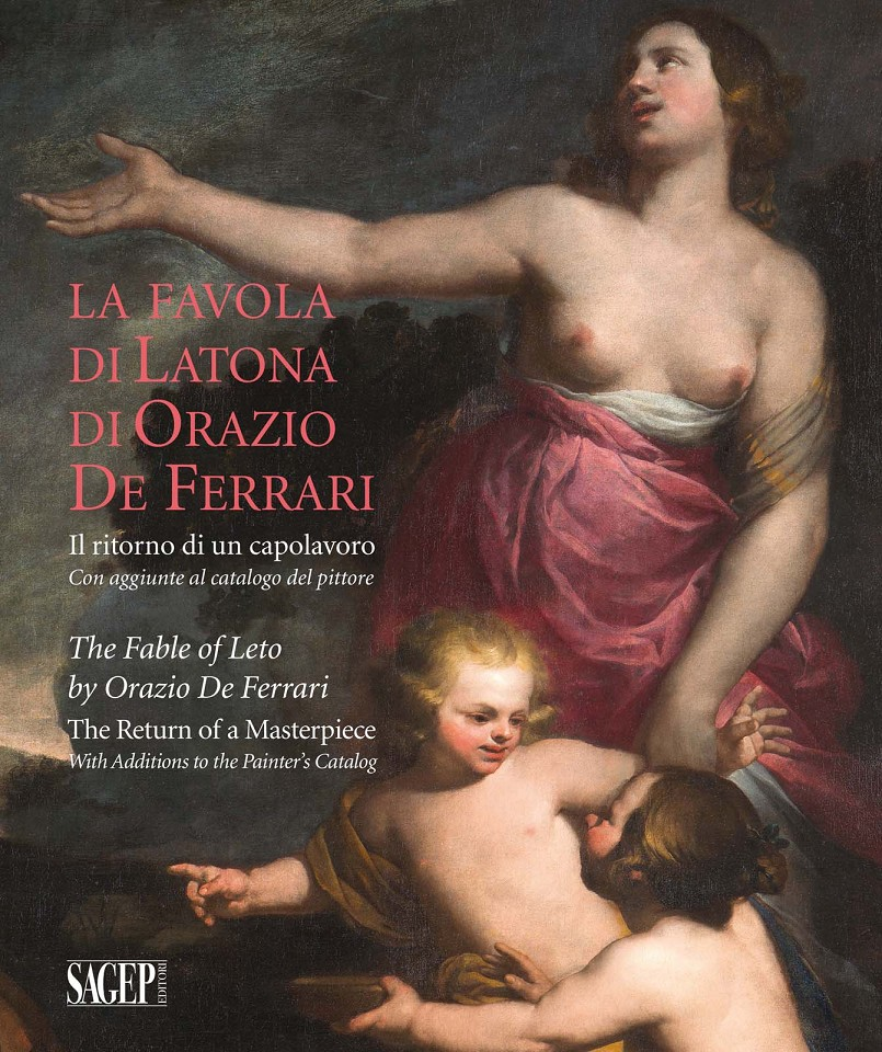 "Cover ""The Fable of Leto by Orazio De Ferrari - The Return of a Masterpiece"""