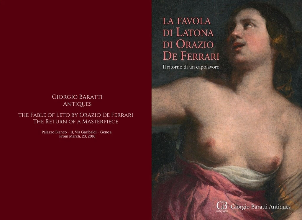 The Fable of Leto by Orazio De Ferrari - The Return of a Masterpiece